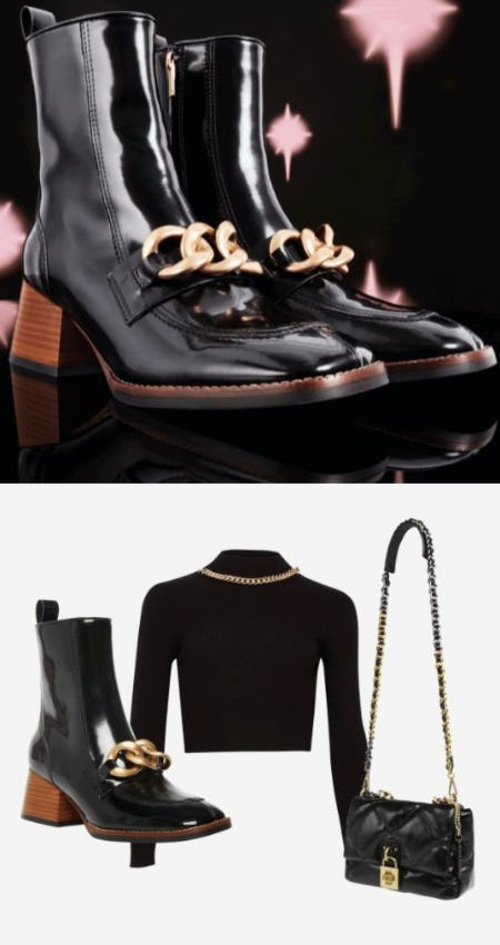 Head-to-Toe Chain from Steve Madden