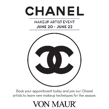 Chanel Regional Makeup Artist Event from Von Maur