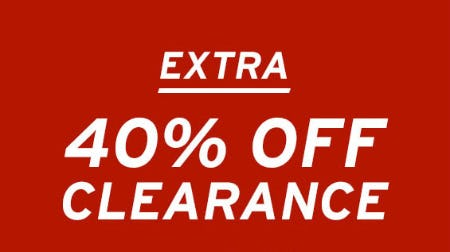 Extra 40% Off Clearance from Eddie Bauer