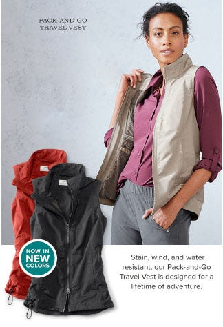 Pack-And-Go Travel Vest from Orvis