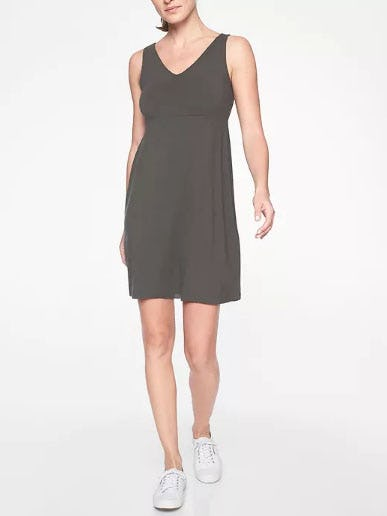 Santorini V Neck Solid Dress from Athleta