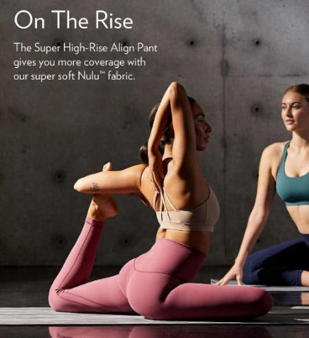 On The Rise from lululemon