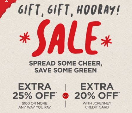 Mad Dash Deals from JCPenney