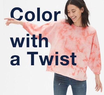 Color with a Twist from Gap