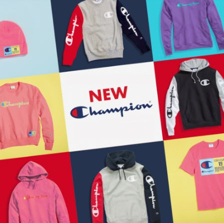 New ℂhampion from Eblens Clothing and Footwear