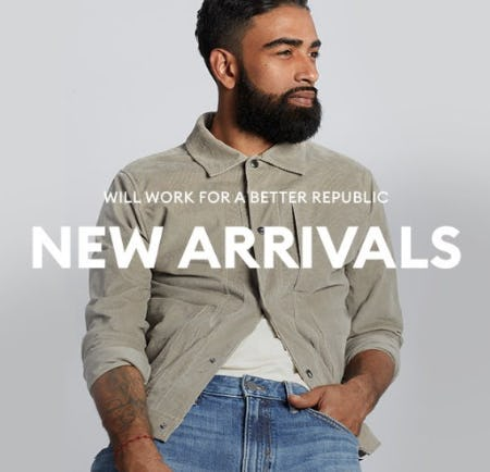 Shop New Arrivals from Banana Republic