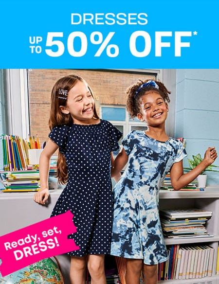 Up to 50% Off Dresses from The Children's Place Gymboree