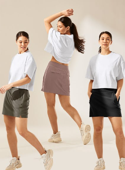 Skort Season is Here from Athleta