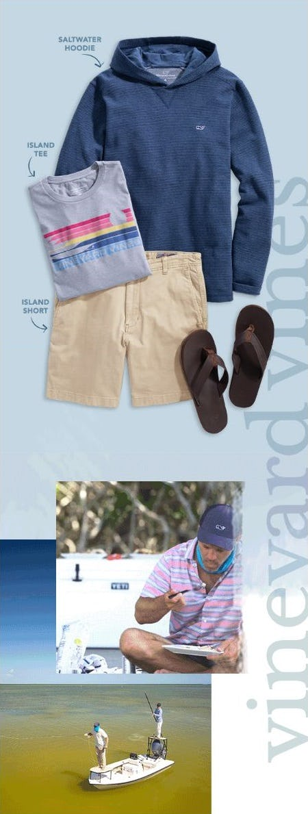 New Men's Styles Are Here from vineyard vines