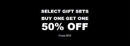 BOGO 50% Off Select Gift Sets