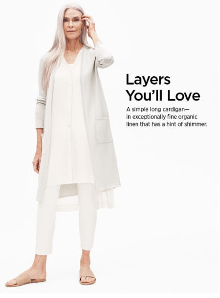 Layers You'll Love from Eileen Fisher