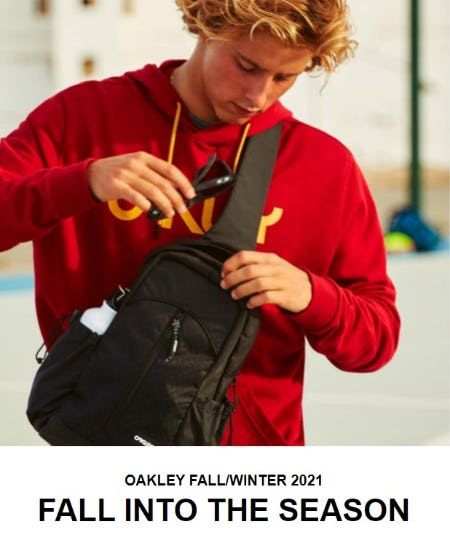 Discover The Oakley Fall/Winter Collection from Oakley