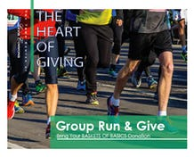 Group Run and Give