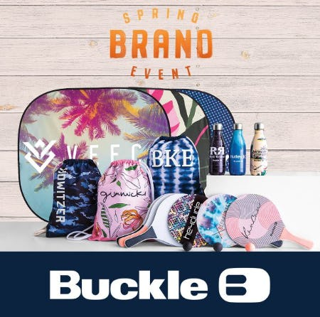 Spring Brand Event from Buckle