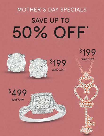 Mother's Day Specials from Zales Jewelers