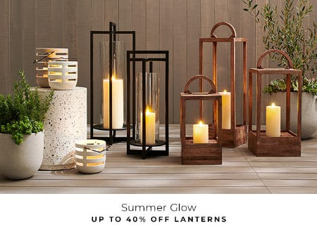 Up to 40% Off Lanterns