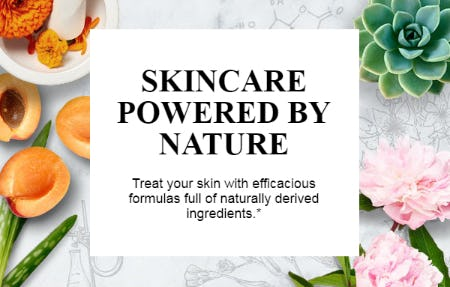 Skin Powered by Nature from Kiehl's