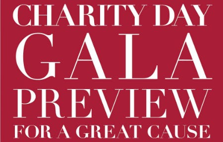 Gala Preview for a Great Cause