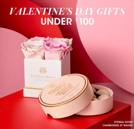 Valentines Day Gifts Under $100 from Bloomingdale's