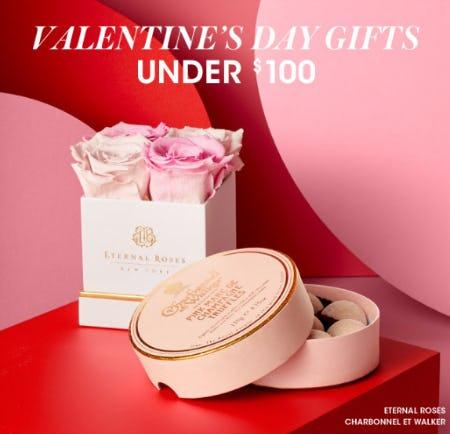 Valentines Day Gifts Under $100