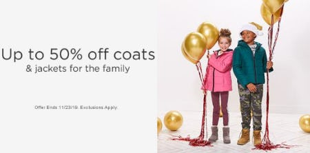 Up to 50% Off Coats & Jackets from Sears