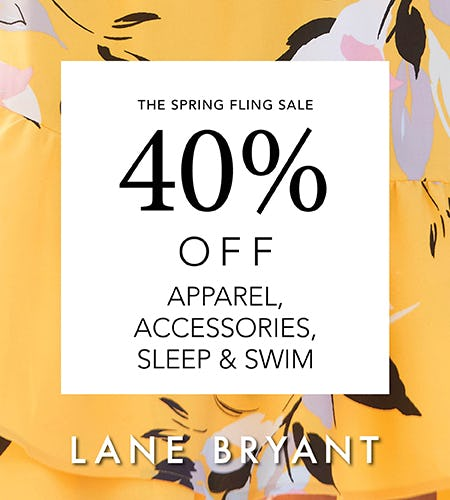 The Spring Fling Sale! from Lane Bryant