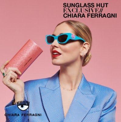 Chiara Ferragni Sunglasses Are Here from Sunglass Hut