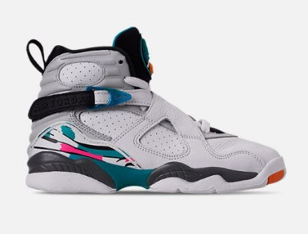 Kids' Grade School Air Jordan Retro 8 Basketball Shoes from Finish Line
