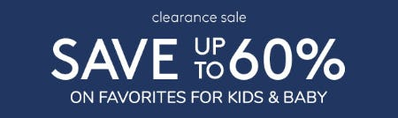Save Up to 60% on Favorites for Kids & Baby from Pottery Barn Kids