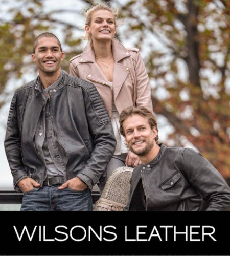 Designer Clearance! Up to 80% off from Wilsons Leather