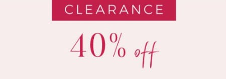 Clearance 40% Off from Lane Bryant