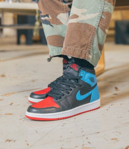 Jordan 1 'NC to CHI' Now Available from DTLR