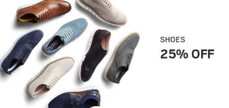 Shoes 25% Off from Men's Wearhouse