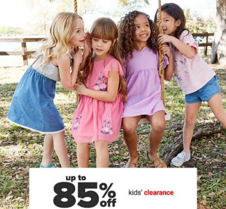 Up to 85% Off Kids' Clearance