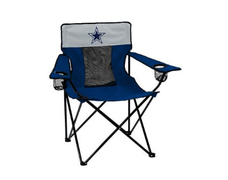 Dallas Cowboys Logo Brands Elite Chair from Lids