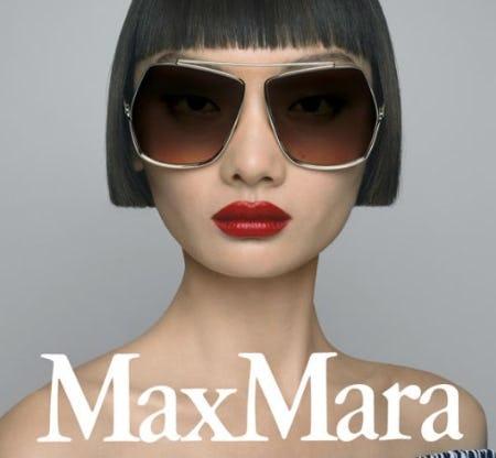 Max Mara Sunglasses Are Here from Von Maur