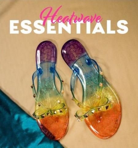 Heatwave Essentials from Shiekh Shoes