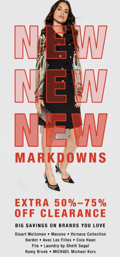 Extra 50%-75% Off New Clearance Markdowns from Neiman Marcus