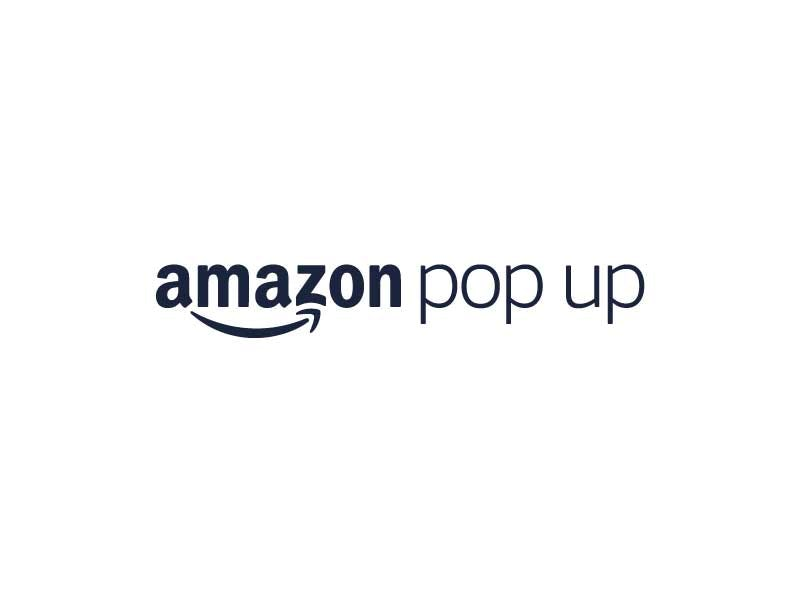 Amazon Pop Up Logo
