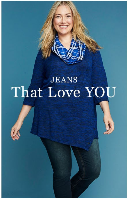 Jeans that Actually Fit from Catherines Plus Sizes