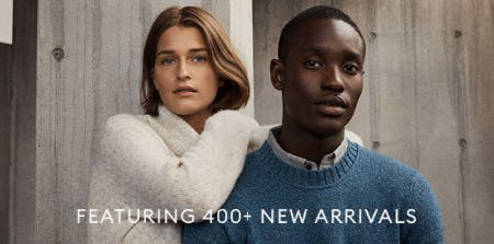400+ New Arrivals from Banana Republic
