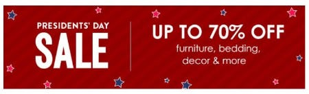 Presidents' Day Sale up to 70% Off from Pottery Barn Kids