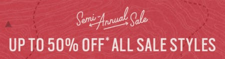 Up to 50% Off Semi-Annual Sale from Fossil