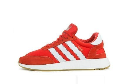 Adidas Red Men's Iniki Runner Sneaker