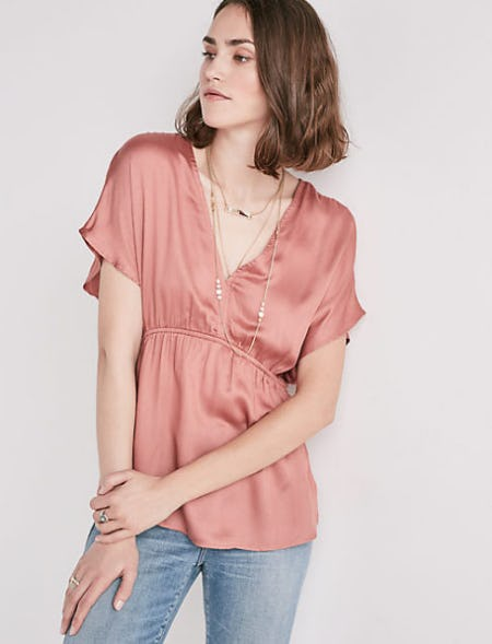 Cinched Waist Top from Lucky Brand Jeans