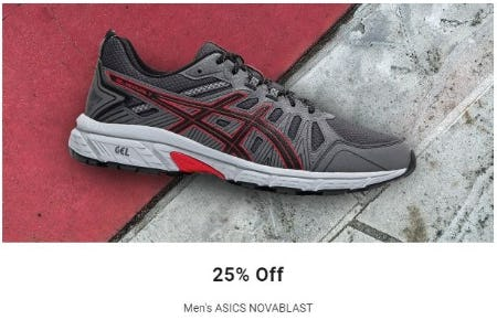 25% Off Men's ASICS