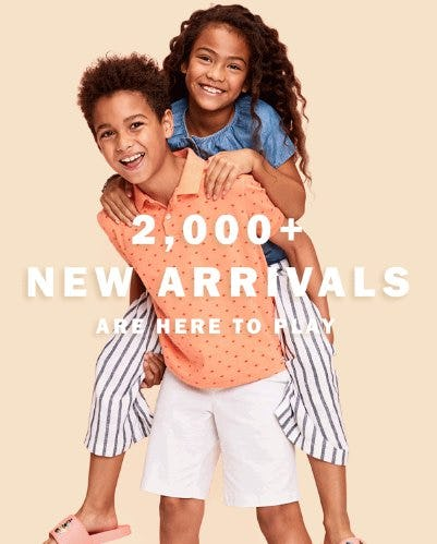 Shop New Arrivals from Old Navy