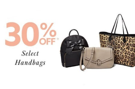 30% Off Select Handbags from Lord & Taylor