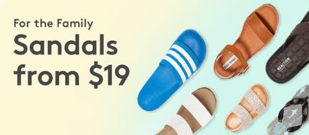 Sandals From $19 from Nordstrom Rack
