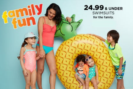 $24.99 & Under Swimsuits from Kohl's